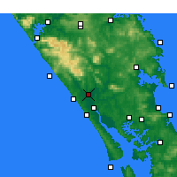 Nearby Forecast Locations - Dargaville - Carta