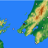 Nearby Forecast Locations - Porirua - Carta