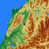Nearby Forecast Locations - Reefton - Carta