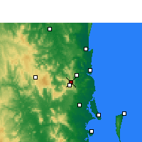 Nearby Forecast Locations - Baroon Pocket Dam - Carta