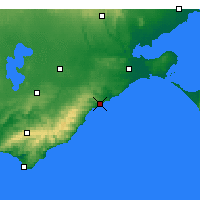 Nearby Forecast Locations - Aireys Inlet - Carta