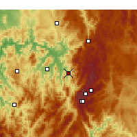 Nearby Forecast Locations - Khancoban - Carta