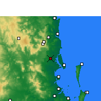Nearby Forecast Locations - Beerburrum - Carta