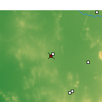 Nearby Forecast Locations - West Wyalong - Carta