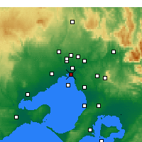 Nearby Forecast Locations - St Kilda (Melbourne) - Carta