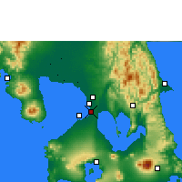 Nearby Forecast Locations - Manila - Carta