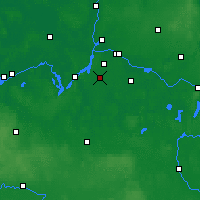 Nearby Forecast Locations - Teltow - Carta