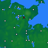 Nearby Forecast Locations - Eutin - Carta
