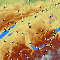Nearby Forecast Locations - Burgdorf - Carta