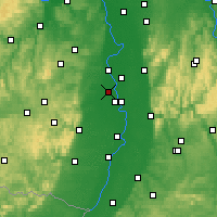 Nearby Forecast Locations - Frankenthal - Carta