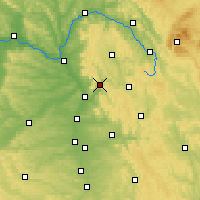 Nearby Forecast Locations - Ebermannstadt - Carta