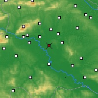 Nearby Forecast Locations - Ivanić-Grad - Carta