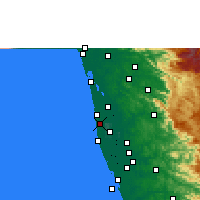 Nearby Forecast Locations - Kanjikkuzhi - Carta