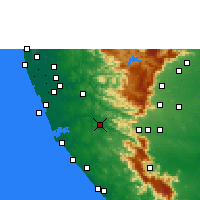 Nearby Forecast Locations - Punalur - Carta