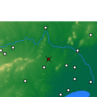 Nearby Forecast Locations - Sattenapalle - Carta