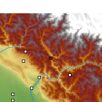 Nearby Forecast Locations - Tehri - Carta