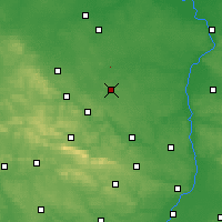 Nearby Forecast Locations - Iłża - Carta