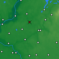 Nearby Forecast Locations - Jabłonowo Pomorskie - Carta