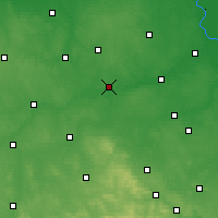 Nearby Forecast Locations - Nowe Miasto nad Pilicą - Carta