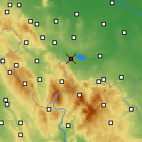 Nearby Forecast Locations - Paczków - Carta