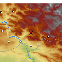 Nearby Forecast Locations - Şırnak - Carta