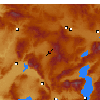 Nearby Forecast Locations - Sandıklı - Carta