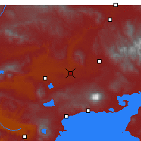Nearby Forecast Locations - Malazgirt - Carta