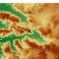 Nearby Forecast Locations - Buldan - Carta