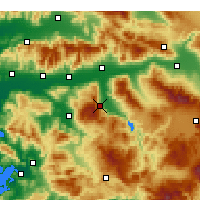 Nearby Forecast Locations - Bozdoğan - Carta