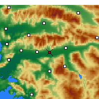 Nearby Forecast Locations - Köşk - Carta