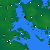 Nearby Forecast Locations - Assens - Carta