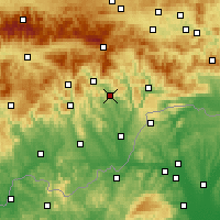 Nearby Forecast Locations - Jelšava - Carta