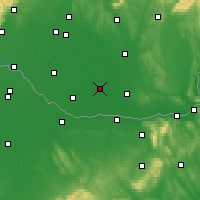 Nearby Forecast Locations - Kolárovo - Carta