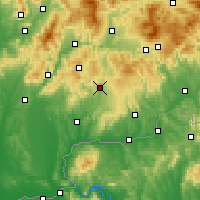 Nearby Forecast Locations - Krupina - Carta