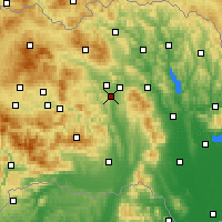 Nearby Forecast Locations - Prešov - Carta