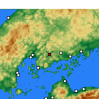 Nearby Forecast Locations - Higashihiroshima - Carta