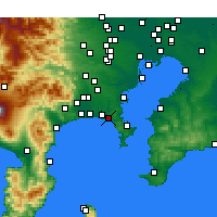 Nearby Forecast Locations - Kamakura - Carta