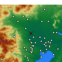 Nearby Forecast Locations - Kōnosu - Carta