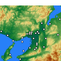 Nearby Forecast Locations - Ikeda - Carta