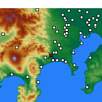 Nearby Forecast Locations - Isehara - Carta