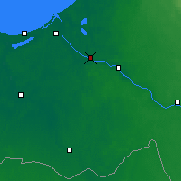 Nearby Forecast Locations - Salaspils - Carta
