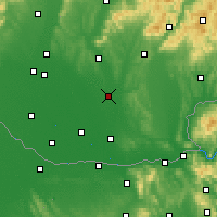 Nearby Forecast Locations - Šurany - Carta