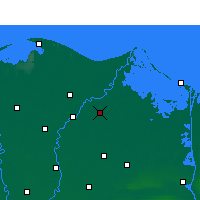 Nearby Forecast Locations - Dekernes - Carta
