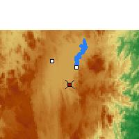 Nearby Forecast Locations - Ambatondrazaka - Carta