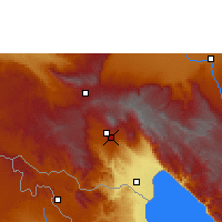 Nearby Forecast Locations - Tukuyu - Carta