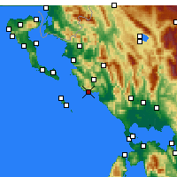 Nearby Forecast Locations - Parga - Carta