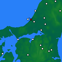 Nearby Forecast Locations - Blokhus - Carta