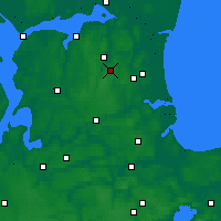 Nearby Forecast Locations - Skørping - Carta