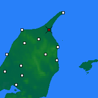 Nearby Forecast Locations - Ålbæk - Carta