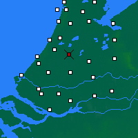 Nearby Forecast Locations - Alphen aan den Rijn - Carta